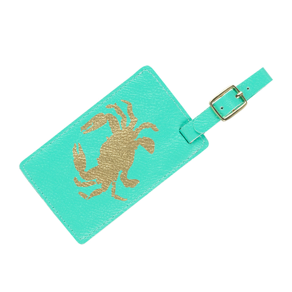 Summer Gold Foil Luggage Tags