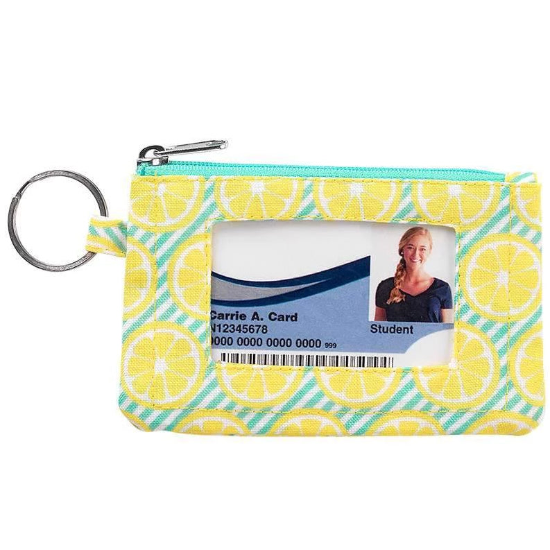 Fashion ID Case & Keyring - Lemon Squeeze