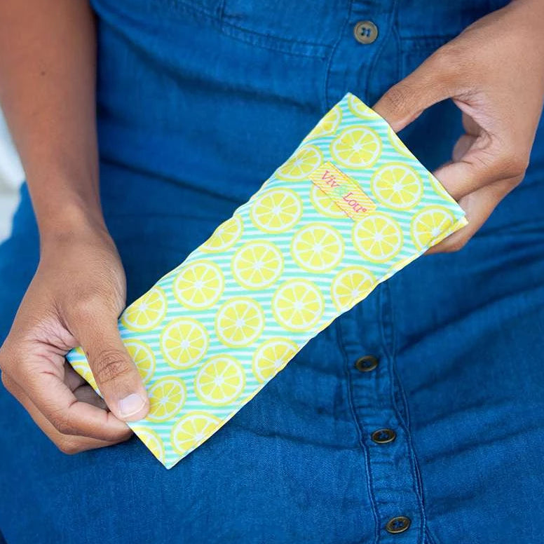 Fashion Sunglasses & Eyeglasses Case - Lemon Squeeze