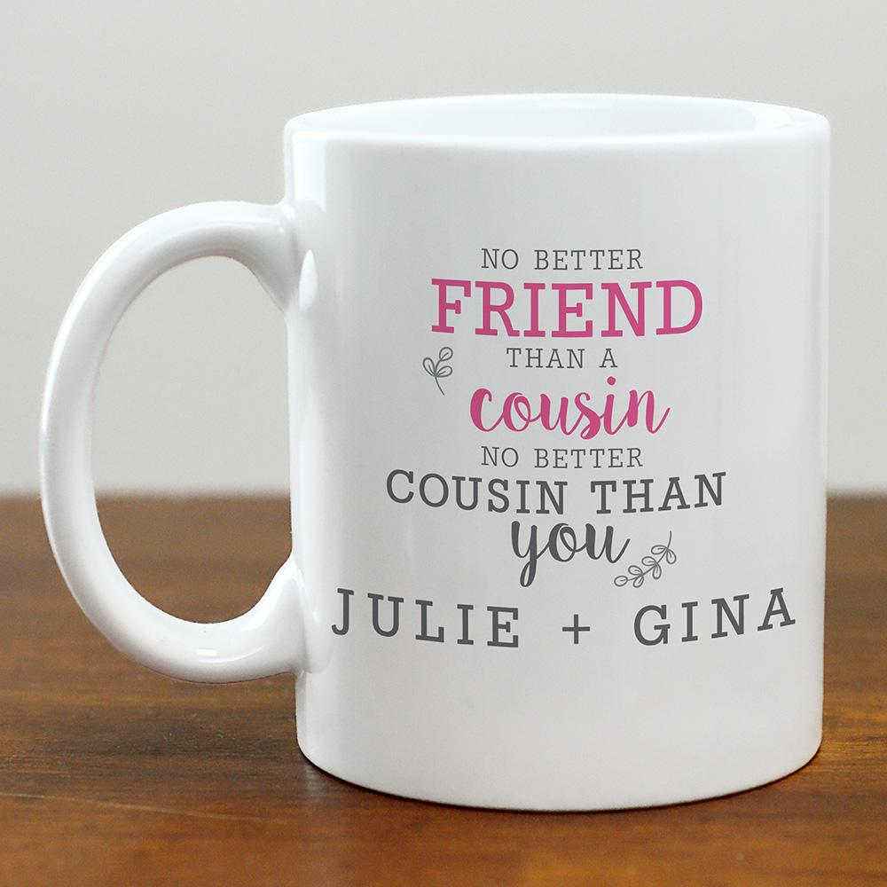 Personalized No Better Friend Mug