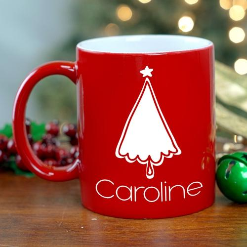 Personalized Christmas Tree  Mug