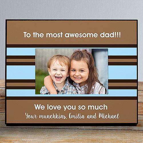 Personalized Custom Message Printed Frame