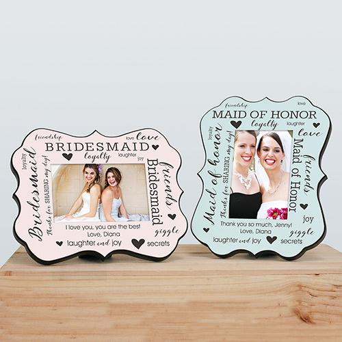 Personalized Bridal Party Benelux Frame