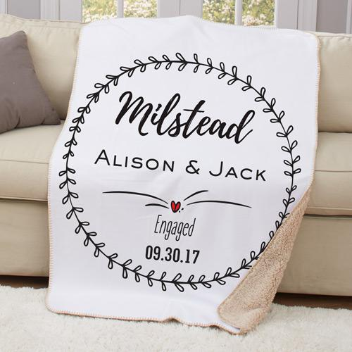 Personalized Engagement Sherpa Throw