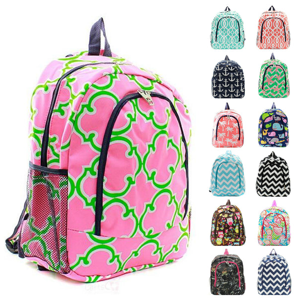 "17"" Full Size Kids Backpack Bookbag School Tote Bag"