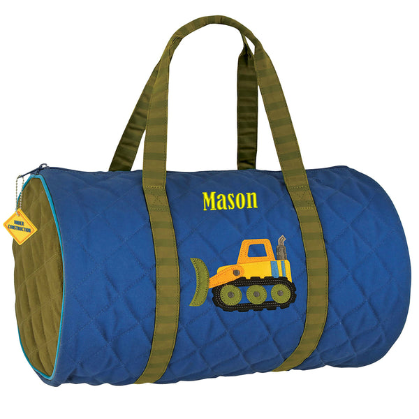 Personalized Kids Quilted Duffle Bags - Stephen Joseph