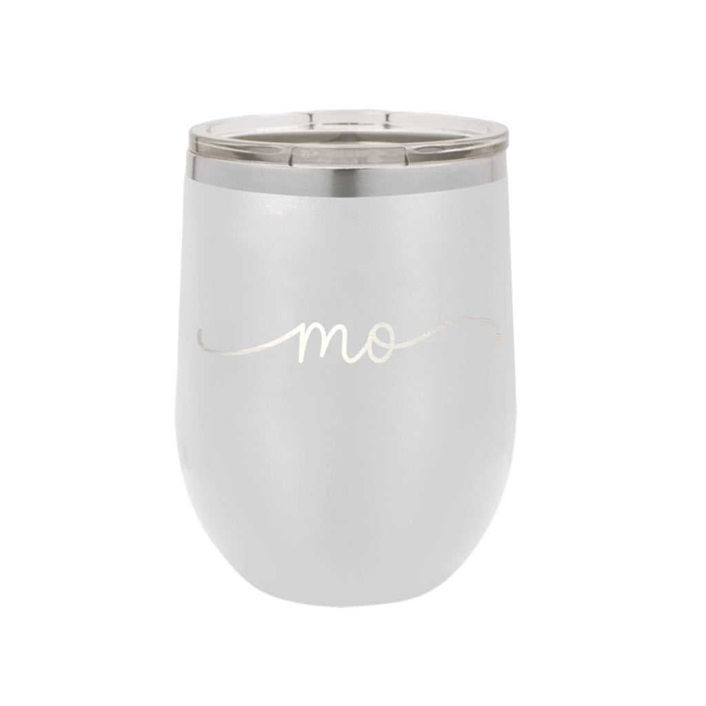 Missouri Rep Your State White 12oz Insulated Tumbler