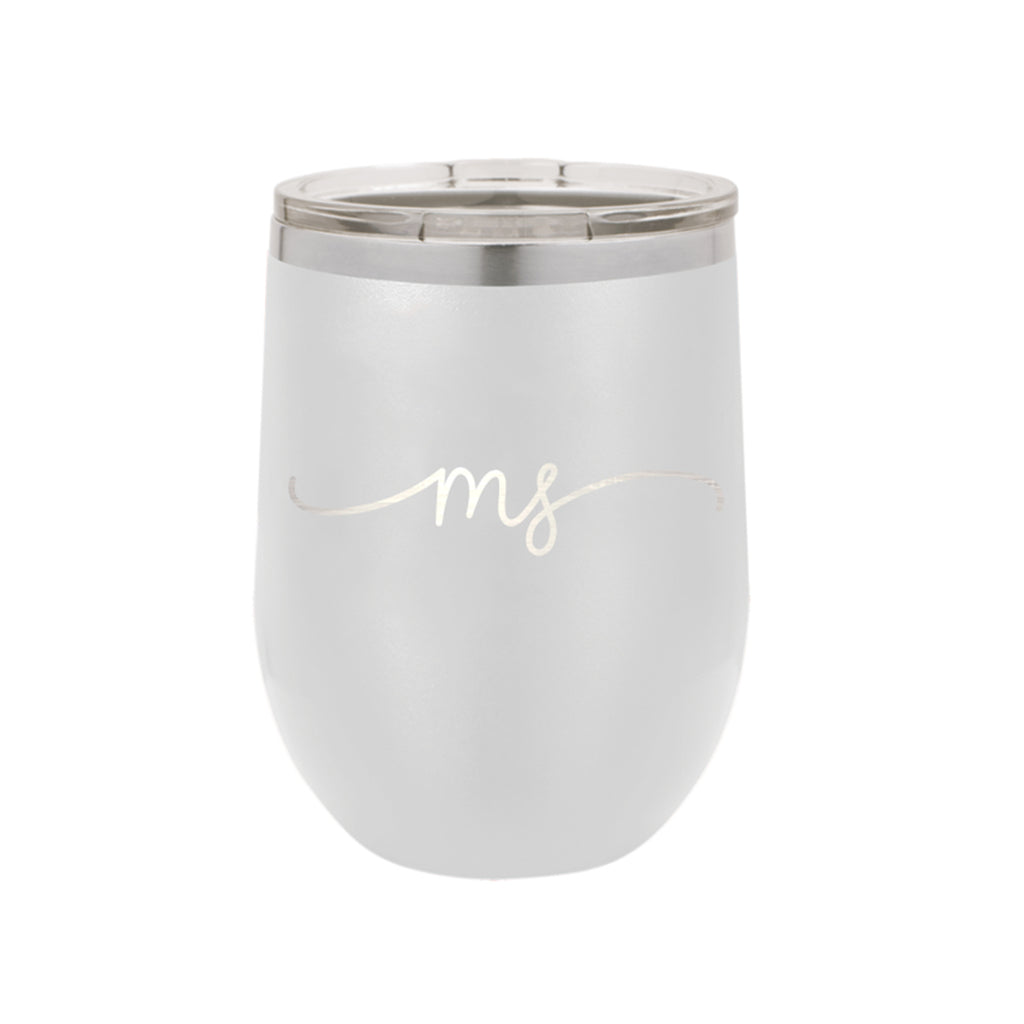 Mississippi Rep Your State White 12oz Insulated Tumbler