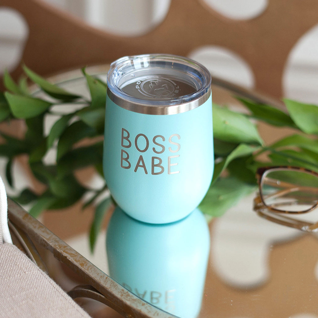Love What You Do 12oz Teal Tumbler