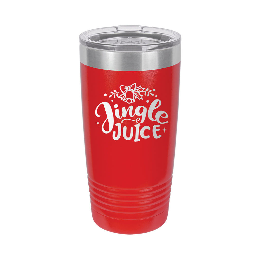 Jingle Juice Red Christmas 20oz Insulated Tumbler