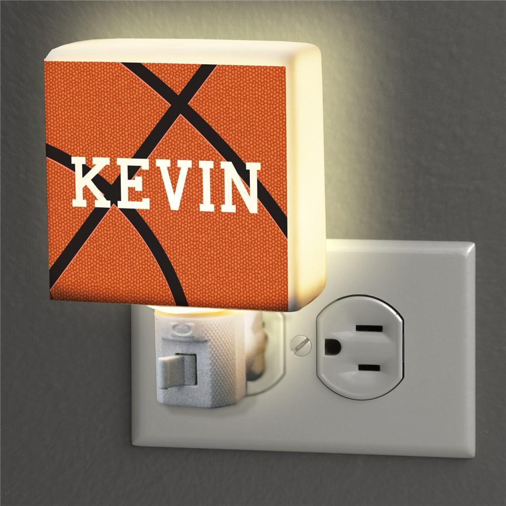Personalized Basketball Night Light