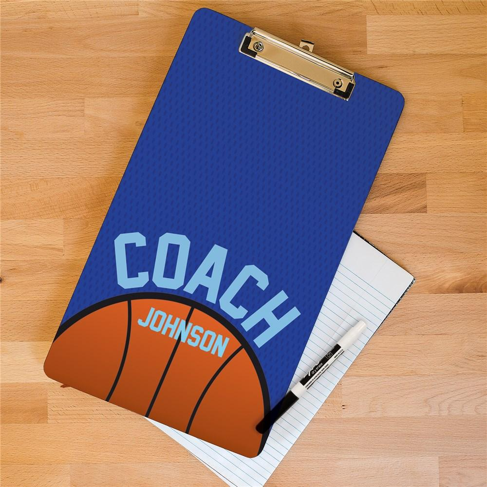 Personalized Basketball Clipboard
