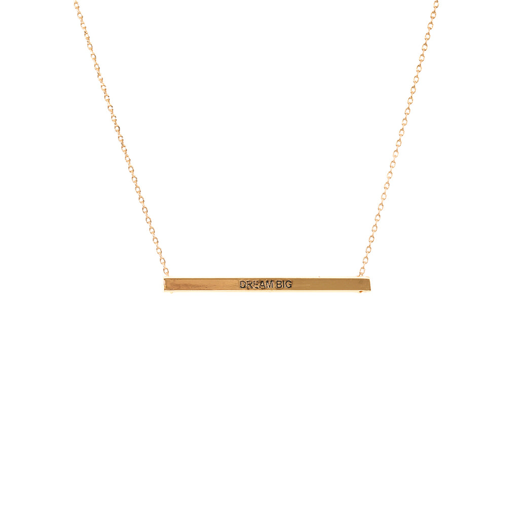 Gold Dream Big Necklace