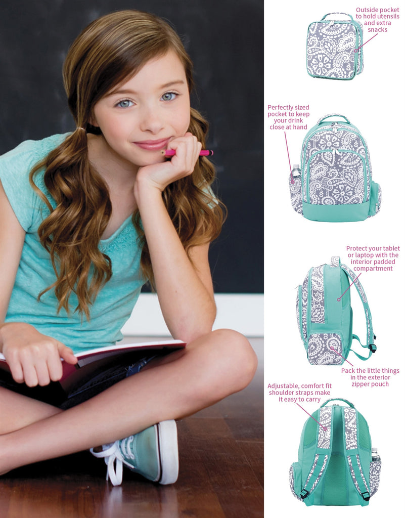 Personalized Matching Backpack & Lunchbox Combo - Gifts Happen Here - 9