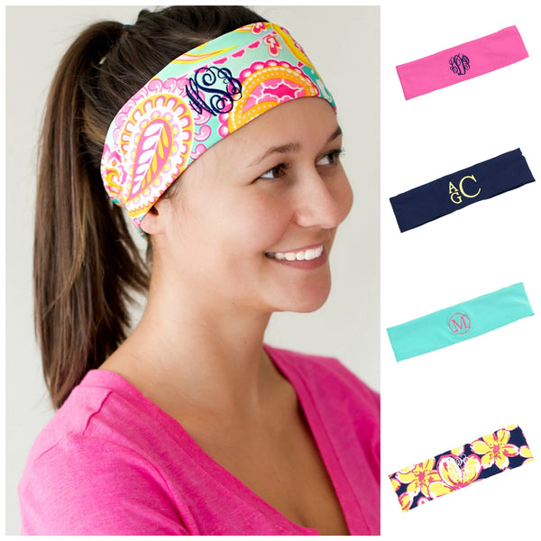 Personalized Headband Active Sports Stretch Head Wrap - Gifts Happen Here - 1