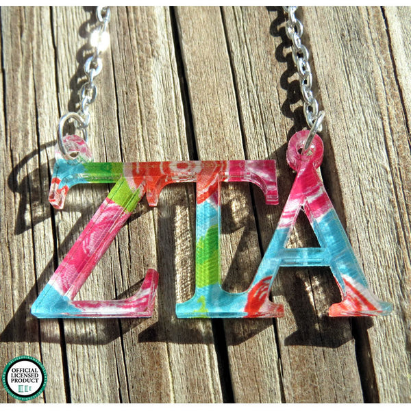 Personalized Greek Letters Floating Necklace - Gifts Happen Here - 6