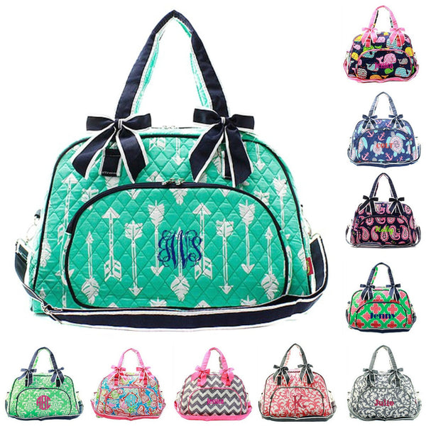 Monogrammed Quilted Bags, Duffles & Totes | GiftsHappenHere.com ... : quilted bags - Adamdwight.com