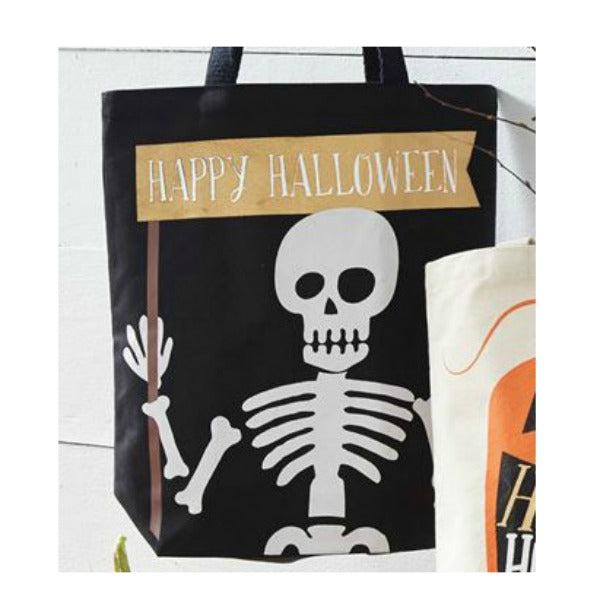 Halloween Tote Bags by Mudpie - Gold Foil