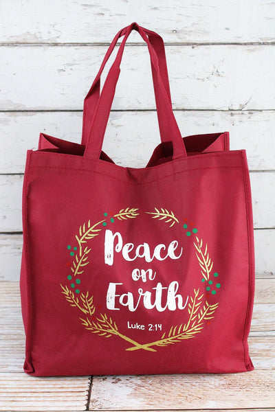 Christmas Shopping Tote Bags