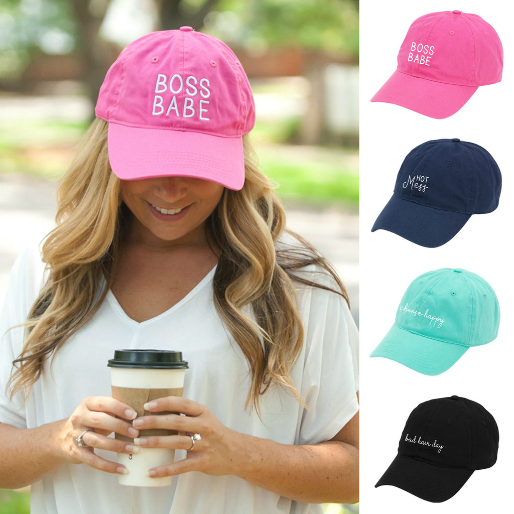 Fun Sayings Gift Cap