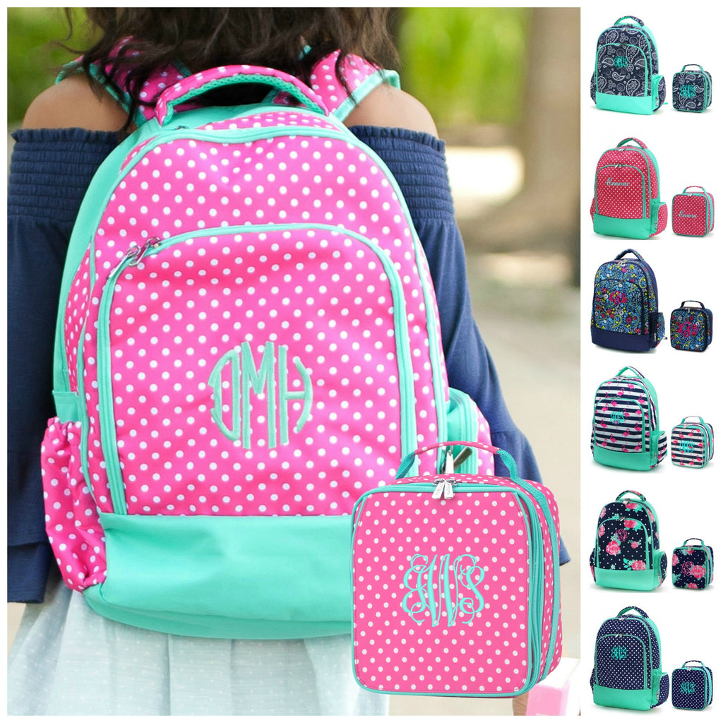 Personalized Matching Backpack & Lunchbox Set