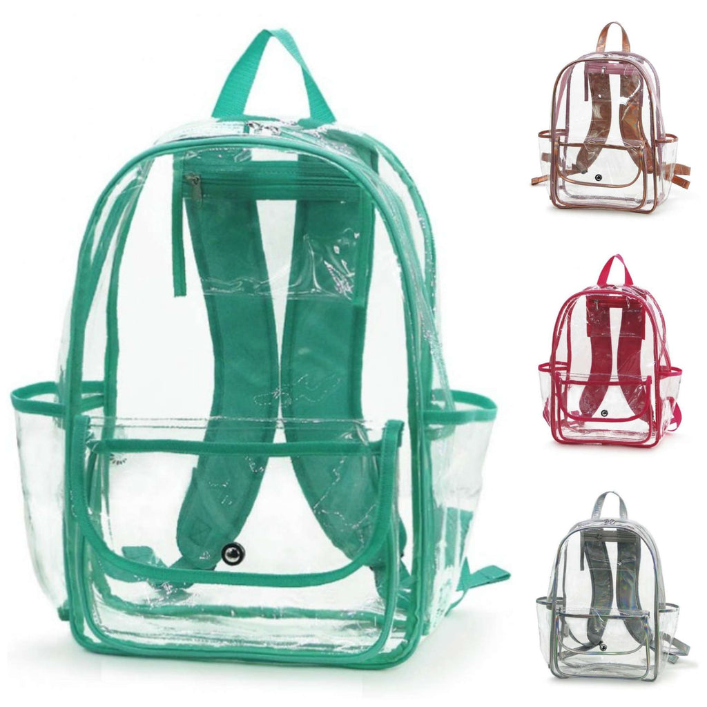 "Clear Backpack - 16"" Full Size"