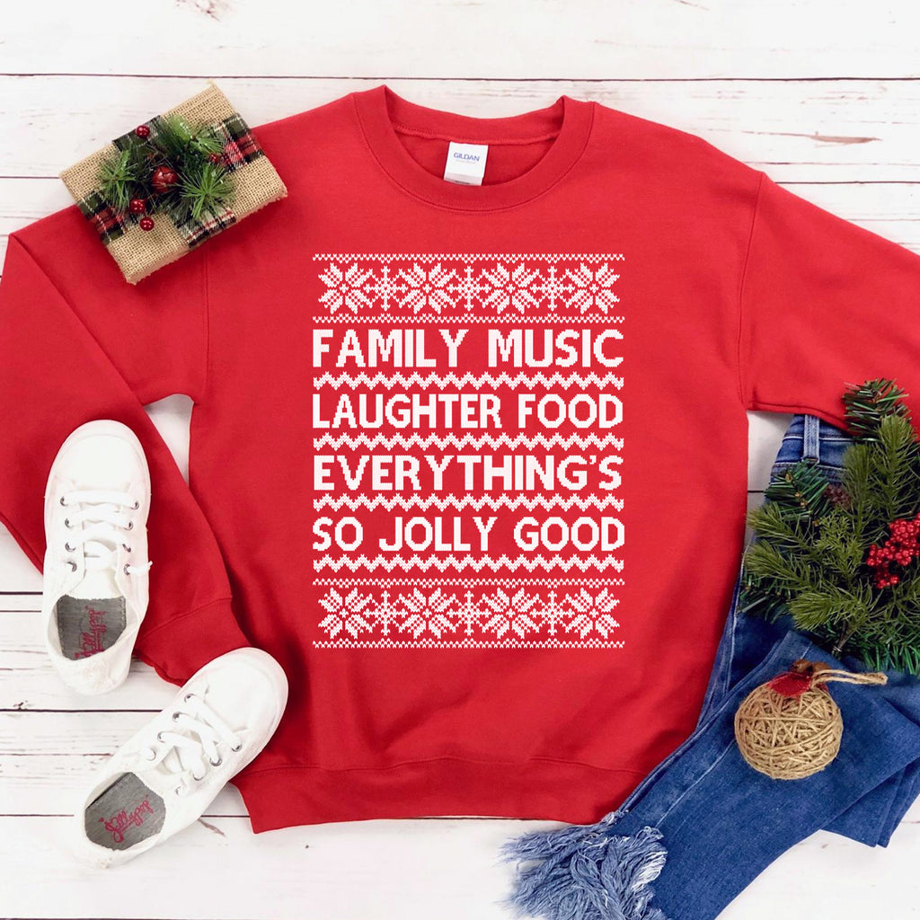 Family Music Sweatshirt