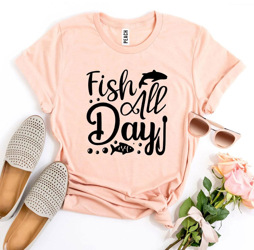 Fish All Day T-shirt
