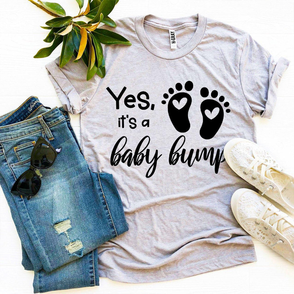 Yes It's a Baby Bump T-shirt