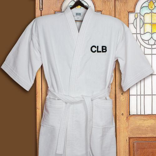 Personalized Embroidered Initials Robe - Valentine's Day Gift