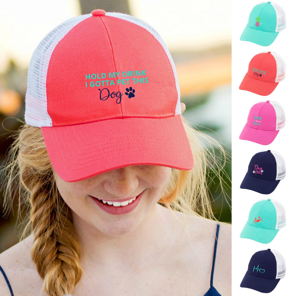 Cute Embroidered Trucker Hats