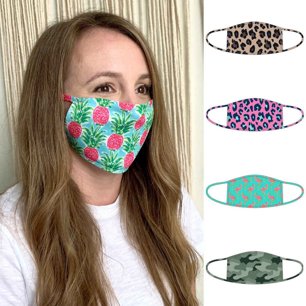 Face Masks - Adults - Patterned Fabric