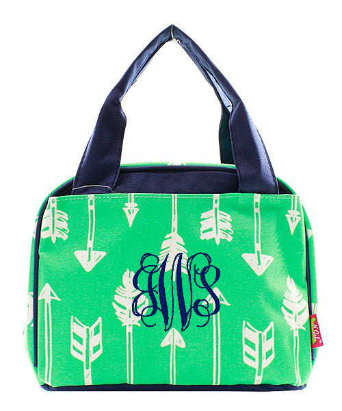 "Personalized 9"" Insulated Lunch Bag Box Lunchbox"
