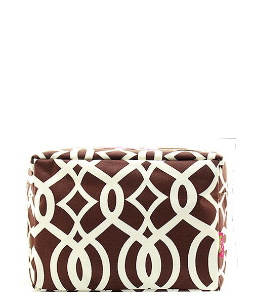 "Cute Patterned 9"" Cosmetic Bag Makeup Case"