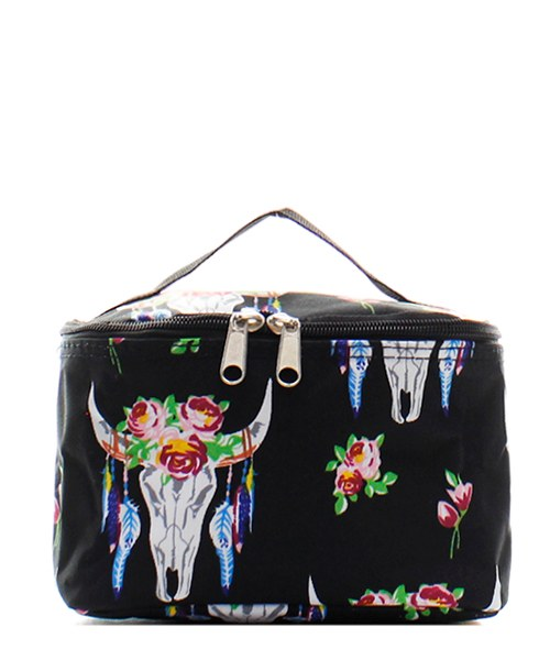 "8"" Cosmetic Bag Makeup Case"
