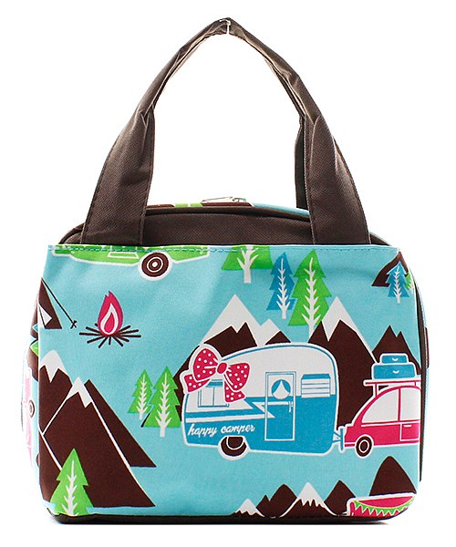 "9"" Insulated Lunch Bag Box Lunchbox"