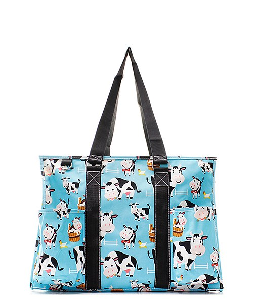 "15"" Large Organizing Utility Tote Bag Beach Diaper"