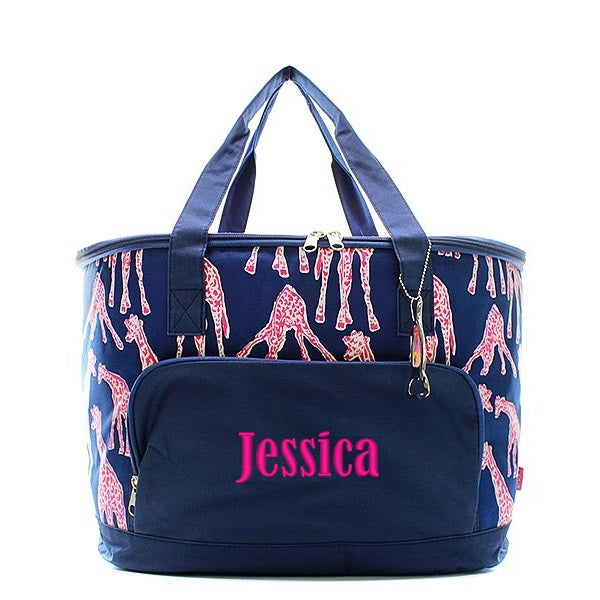 Personalized Large Insulated Cooler Tote Bag