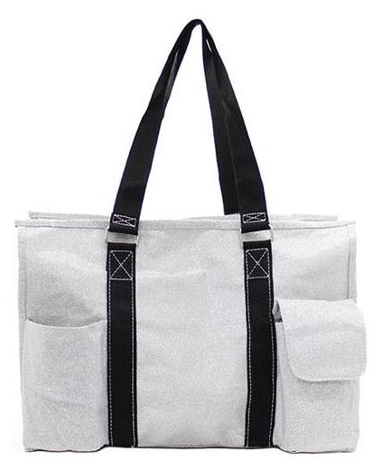 "18"" Large Organizing Utility Tote Diaper Bag"