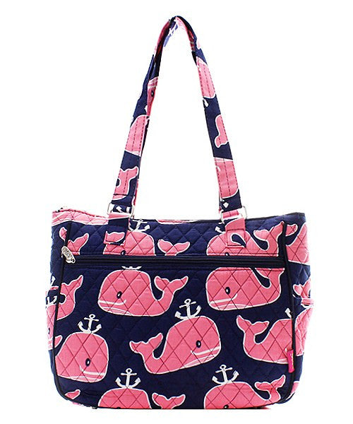 Cute Quilted Handbag Purse Tote Bag