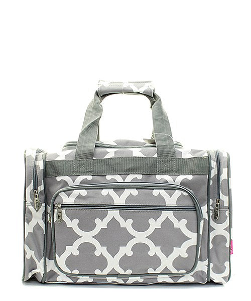 "17"" Duffle Gym Bag Sports Carry On Travel Tote"