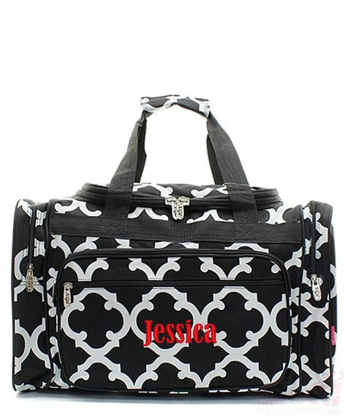 "Personalized 20"" Duffle Gym Bag Sports Carry On Travel Tote"