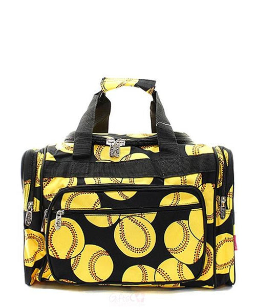 "17"" Duffle Gym Bag Sports Carry On Travel Tote - Gifts Happen Here"