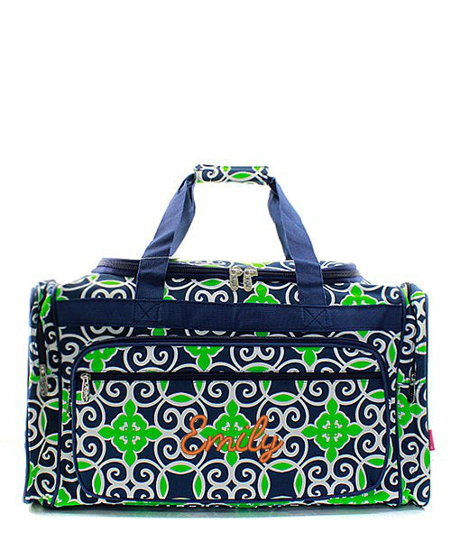 "Personalized 23"" Duffle Gym Bag Sports Carry On Travel Tote"