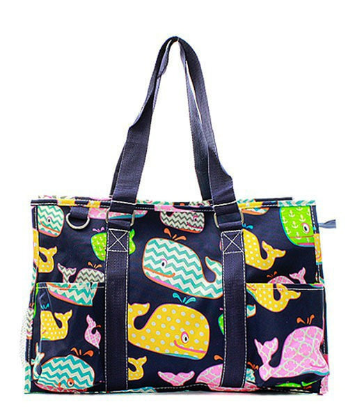 "15"" Large Organizing Utility Tote Bag Beach Diaper - Gifts Happen Here"