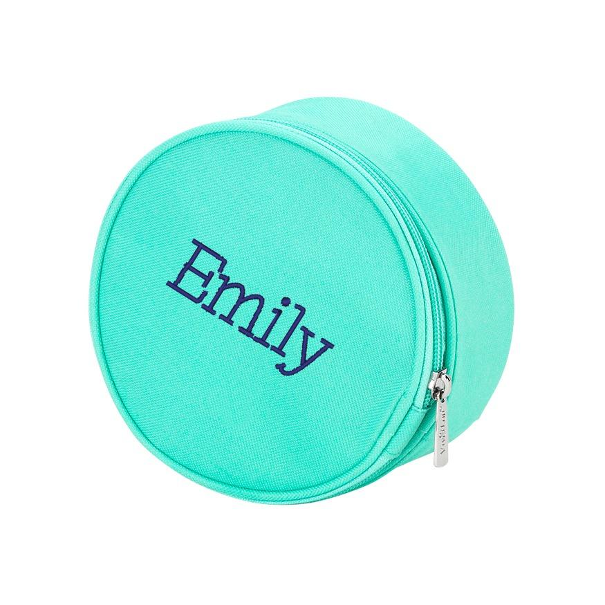 Personalized Jewelry Case - Mint