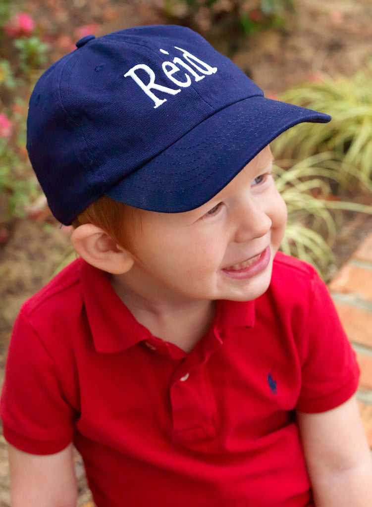 Personalized Monogrammed Kids Baseball Cap Toddler Hat - Gifts Happen Here - 11