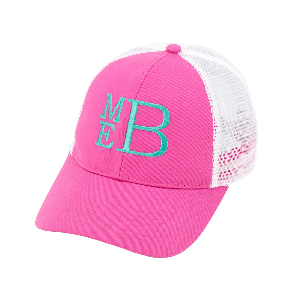 Personalized Monogrammed Trucker Hat Baseball Cap - Gifts Happen Here - 10