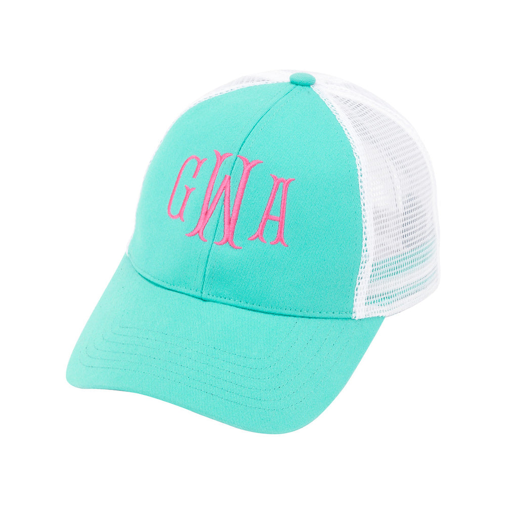 Personalized Monogrammed Trucker Hat Baseball Cap - Gifts Happen Here - 7