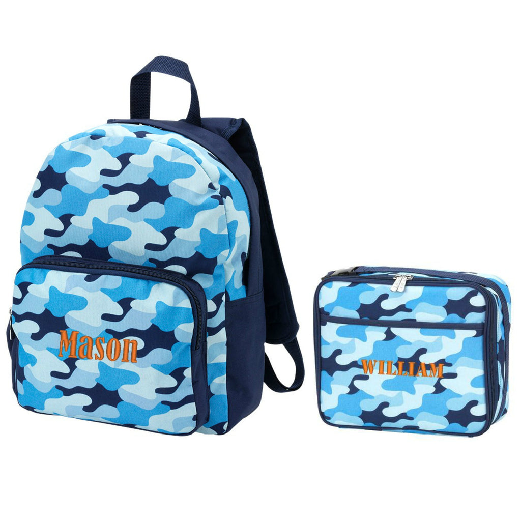Personalized Preschool Backpack & Matching Lunchbox